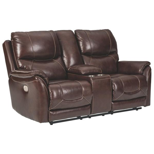 Dellington Power Reclining Loveseat With Console