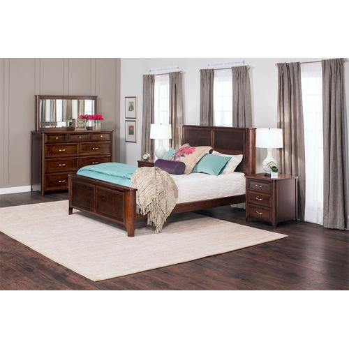 Belvedere Panel Bed, Belvedere Panel Bed, Queen