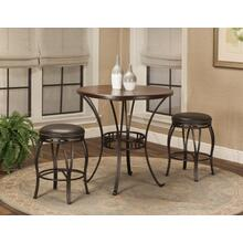 "CR-J3005  3 Piece 36"" Round Pub Table Set"
