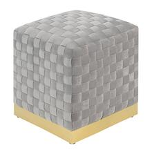 Jamison Square Ottoman, Granite U1108-03sq-03