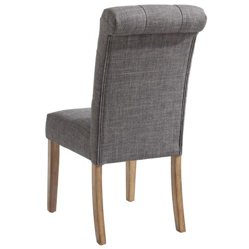 Melia Side Chair, set of 2 in Grey