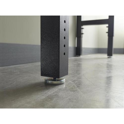6' Adjustable Height Hardwood Workbench