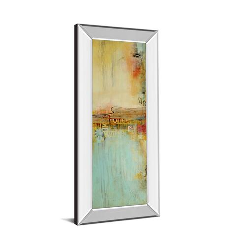 """Eastside Story II By Erin Ashley Mirror Framed Print Wall Art"