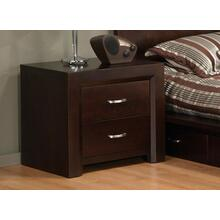 Contempo 2 Drawer Nightstand w/Power Management
