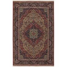 "Original Medallion Kirman 5' 9""x9'"