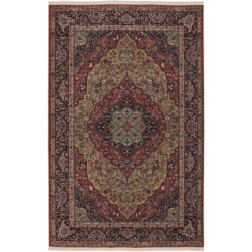 "Original Medallion Kirman 8' 8""x10' 6"""