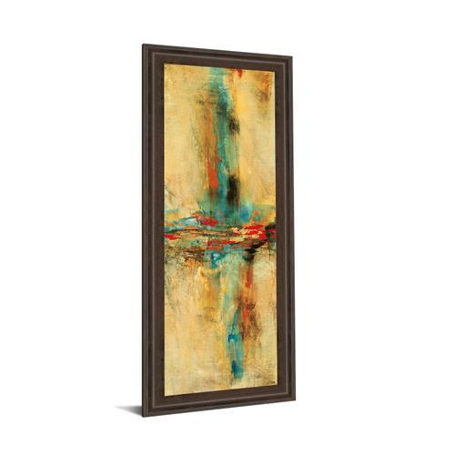 """Equilibrio I"" By Nancy Villarreal Santos Framed Print Wall Art"