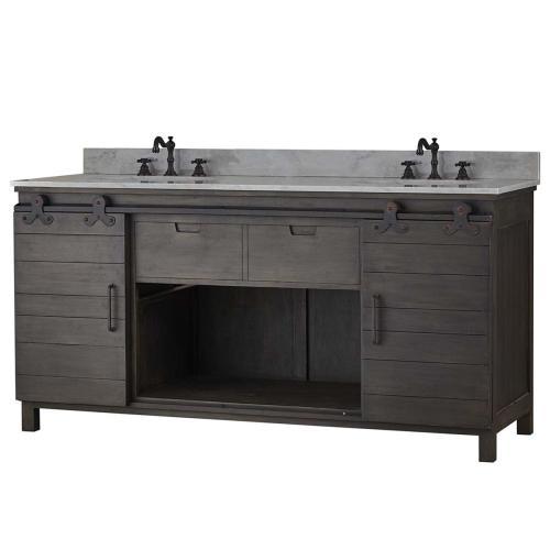 Sonoma Double Vanity w/ Sink & Marble Top