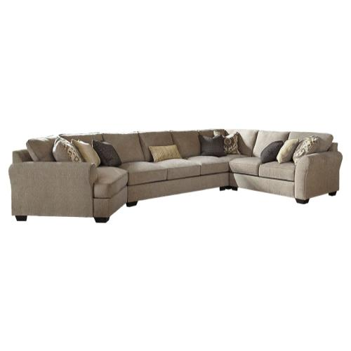 Benchcraft - Pantomine 4-piece Sectional With Cuddler