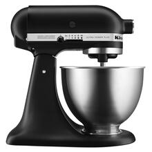 Ultra Power® Plus Series 4.5-Quart Tilt-Head Stand Mixer - Black Matte