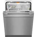 MieleFully-integrated, full-size dishwasher with hidden control panel, 3D+ cutlery tray and CleanTouch Steel panel