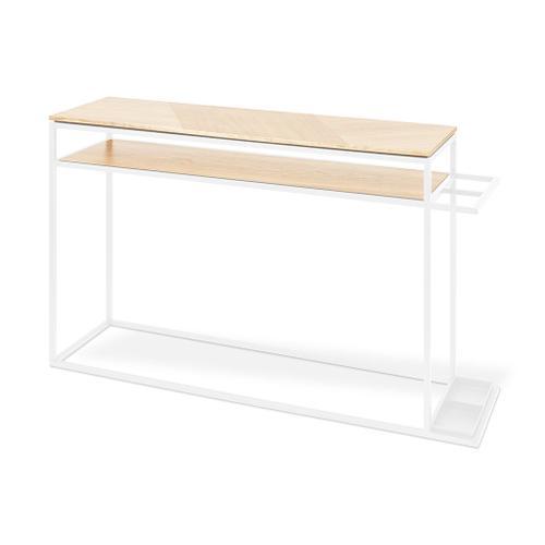 Tobias Console Table Blonde Ash