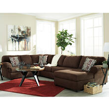 Signature Design by Ashley Jayceon 3-Piece Left Side Facing Sofa Sectional in Java Fabric [FSD-6499SEC-3LAFS-JAV-GG]
