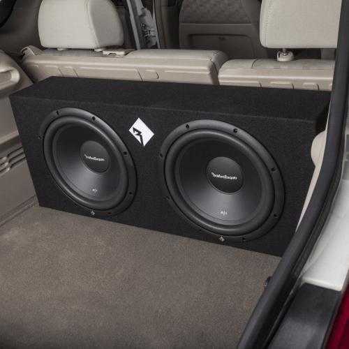 "Rockford Fosgate - Prime Dual 12"" 400 Watt Loaded Enclosure"