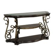 Seville Sofa Table, Warm Burnished Bronze Base Product Image