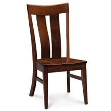 View Product - Lincoln Side Chair, Wood Seat
