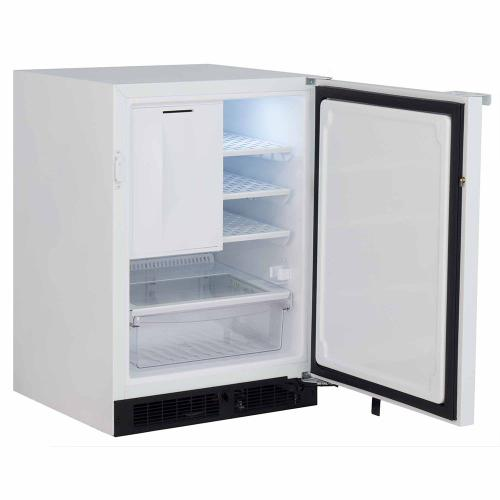 24-In General Purpose Automatic Defrost Refrigerator Freezer with Door Swing - Right