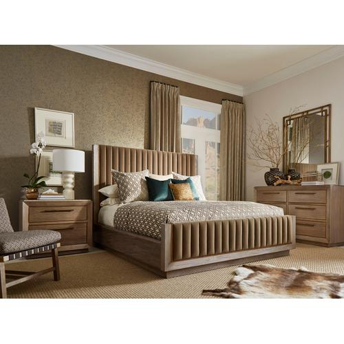 A.R.T. Furniture - Woodwright Queen Mulholland Upholstered Bed