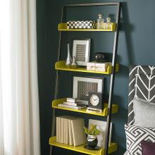 Style Boost Leaning Bookcase