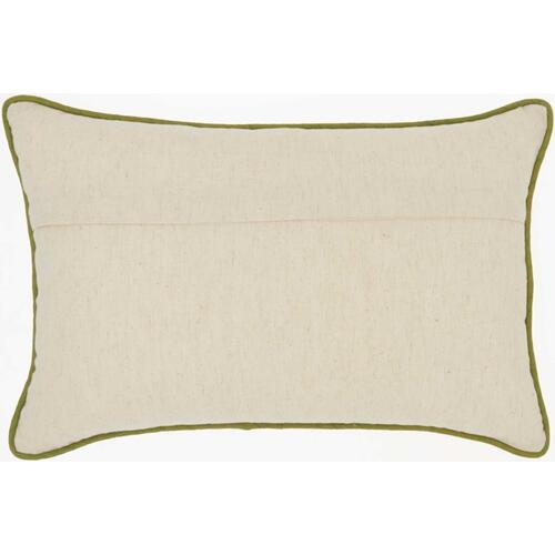 "Royal Palm Ns110 Green 12"" X 18"" Lumbar Pillow"