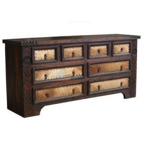 Dark Cowhide Dresser