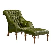 See Details - Buchanan Tufted Lounge Chair & Ottoman