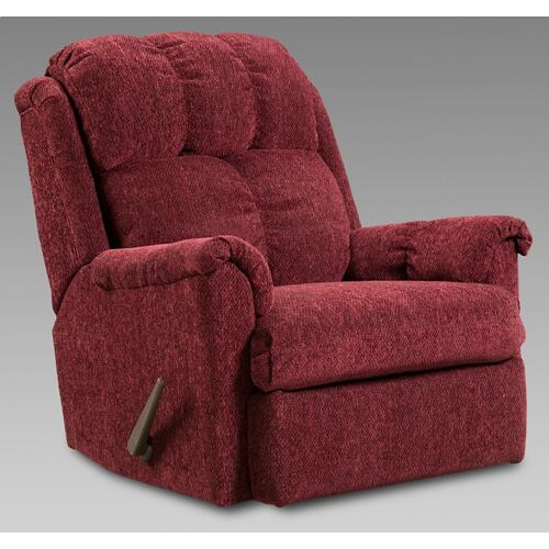 Tahoe Wine Rocker Recliner