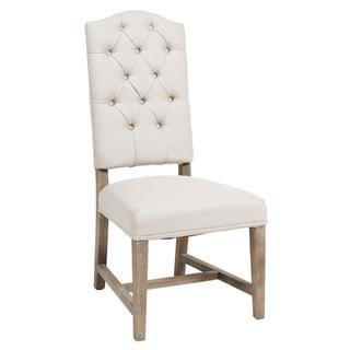 See Details - Ava Upholstered Dining Chair Beige