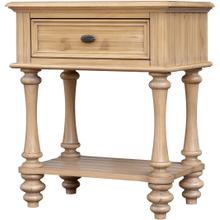See Details - Hampton Shelf Nightstand