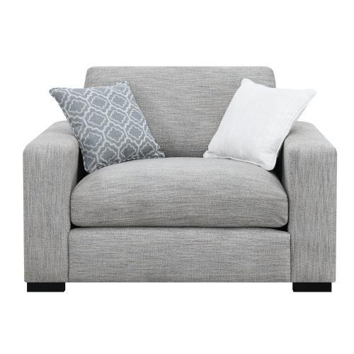 Emerald Home U3286-02-13 Medina Accent Chair, Gray