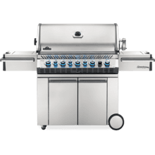 Prestige PRO 665 RSIB with Infrared Side and Rear Burners , Stainless Steel , Propane