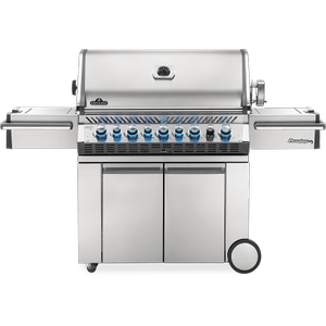 Napoleon BBQPrestige PRO 665 RSIB with Infrared Side and Rear Burners , Stainless Steel , Natural Gas