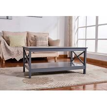 See Details - 6603 X-Side Panel Coffee Table