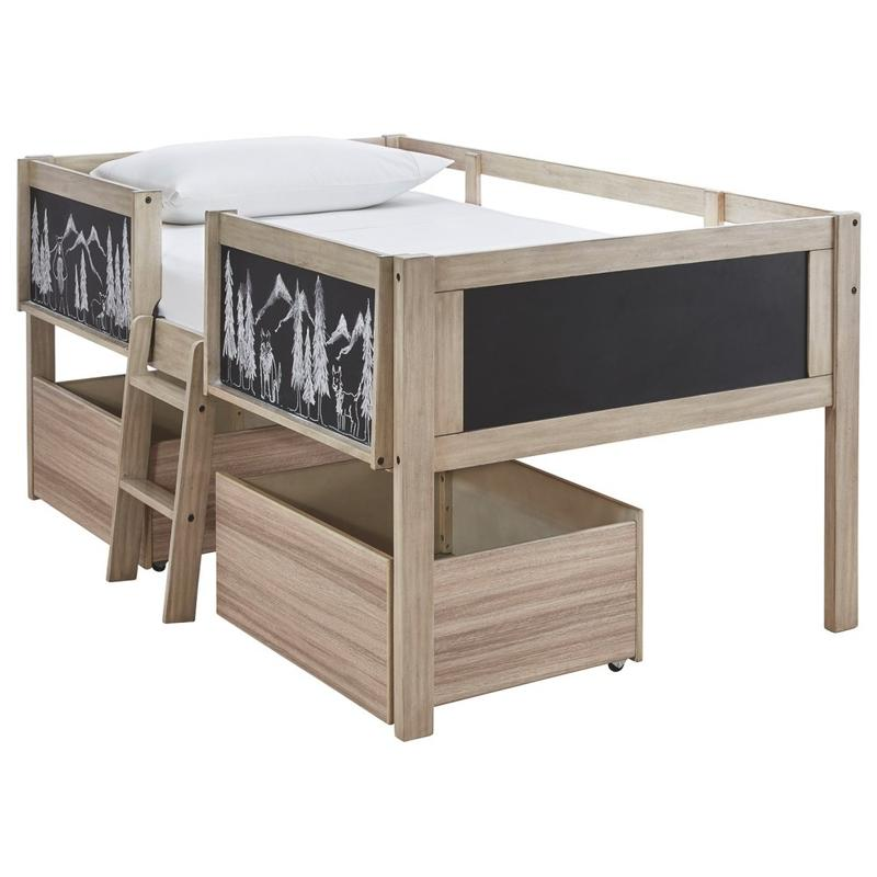 View Product - Wrenalyn Twin Loft Bed