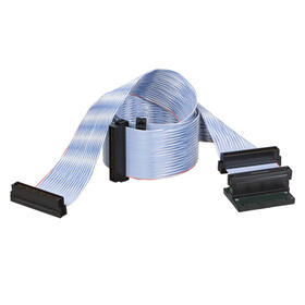 36-inch Internal SCSI U2/160 SCSI-LVD/SE 3-Drive Ribbon Cable with Terminator (4xHD68 M)
