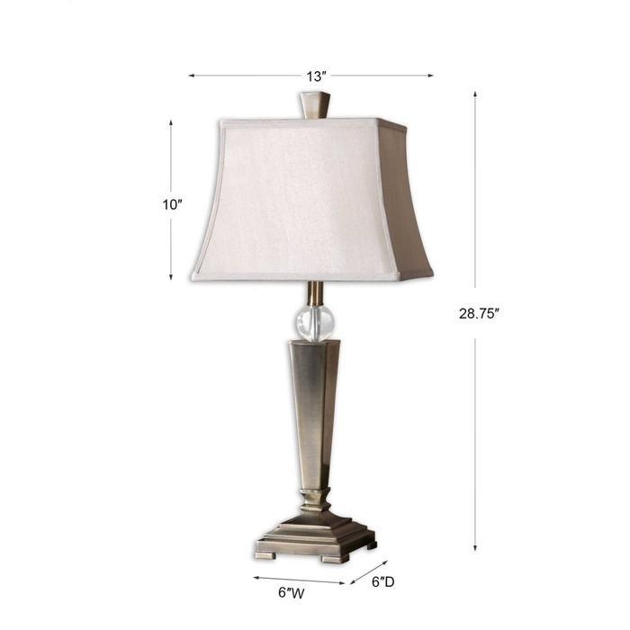 Uttermost - Mantello Table Lamp, 2 Per Box