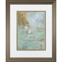 """""""White Lotus"""" By Parker Framed Print Wall Art"""