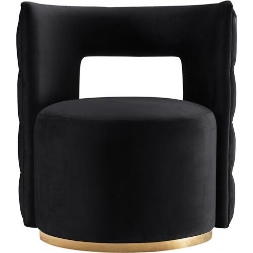 "Theo Velvet Accent Chair - 28"" W x 27"" D x 31"" H"
