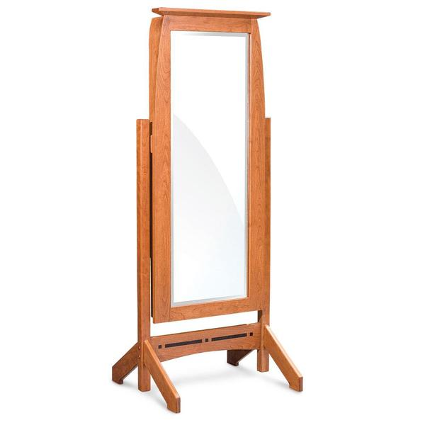 See Details - Aspen Jewelry Cheval Mirror with Inlay