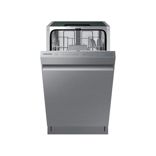 Whisper Quiet 46 dBA Dishwasher in Stainless Steel