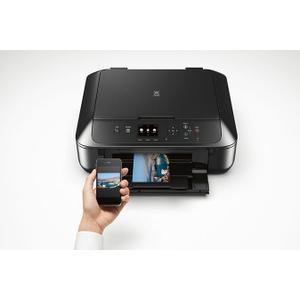 Canon PIXMA MG5720 Black Wireless Photo All-in-One Inkjet Printer
