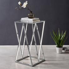 See Details - LED Side Table // Square, Medium
