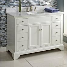 "Framingham 48"" Vanity - Polar White"