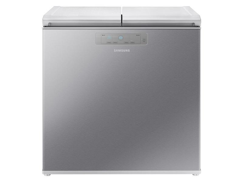 Samsung7.6 Cu. Ft. Kimchi & Specialty 2-Door Chest Refrigerator In Silver