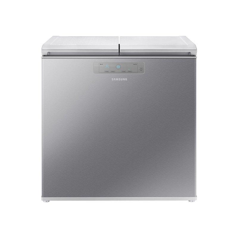 7.6 cu. ft. Kimchi & Specialty 2-Door Chest Refrigerator in Silver