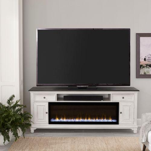 80 Inch Fireplace TV Console