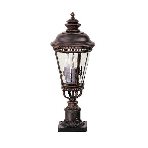 Feiss - Castle Medium Post Lantern Grecian Bronze