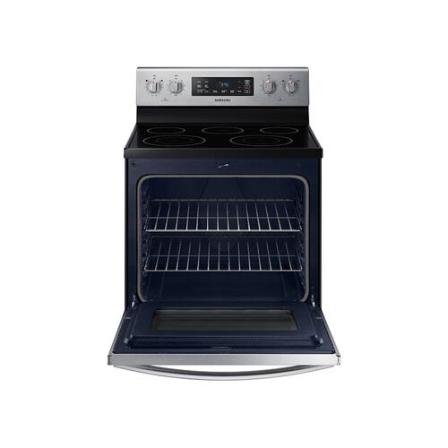 5.9 cu.ft. Freestanding Electric Range in Stainless Steel