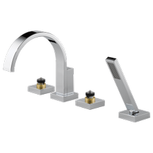See Details - Roman Tub Faucet With Handshower - Less Handles