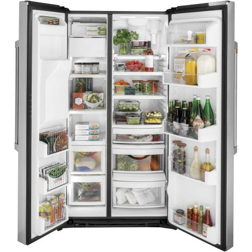 Café 21.9 Cu. Ft. Counter-Depth Side-By-Side Refrigerator